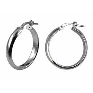 Sterling Silver Italian Hoop Earrings